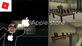 Faire un magasin de pommes à bloxburg! | ROBLOX speedbuid