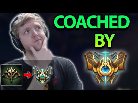 COACHED BY CHALLENGER WHILE I PLAY?! THIS GAME WAS INSANE! ADC To Masters Ep. 10 - League of Legends