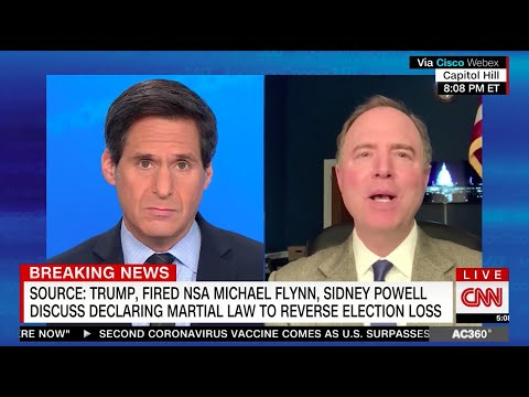 Rep. Schiff on CNN: We Can Expect Trump to Descend Further into Madness in Final Days