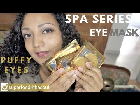 Ultimate ASMR spa - Eye mask and massage for puffy eyes Roleplay
