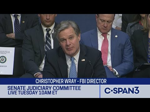 FBI Director Christopher Wray Testifies on January 6th U.S. Capitol Attack