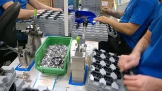 Работа на заводе бытовой техники ( сортировка деталей )