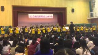 豊橋交響楽団と新川小トランペット部