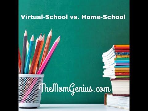 Virtual School vs Home School --Mompreneur Perspective