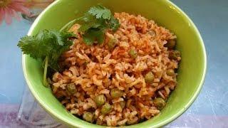 Mexican Rice w-Peas & Cilantro(Vegan,Oil-Free)