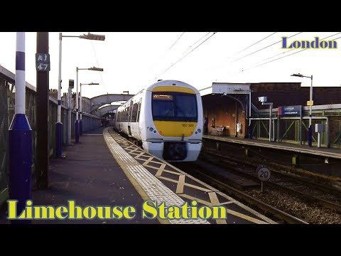 London Limehouse Station   C2c ( British Rail Class 357 )