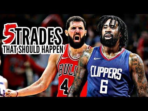 5 NBA Trades That Should Happen: DeAndre Jordan * Marc Gasol * Nikola Mirotic