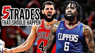 5 NBA Trades That Should Happen: DeAndre Jordan * Marc Gasol * Nikola Mirotic