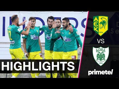 AEK Larnaca Doxa Goals And Highlights