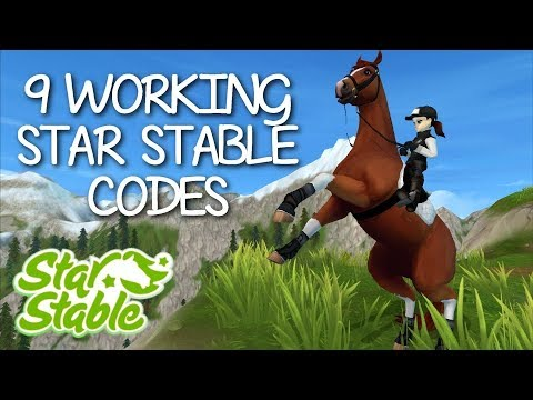 9 WORKING CODES 2019 - STAR STABLE ONLINE [WORKING]