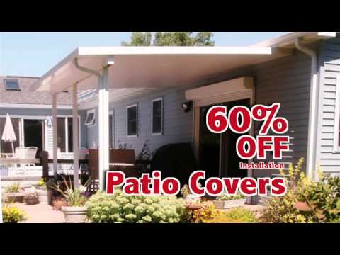 D&W - 60% off Sunrooms, Patio Covers & Awnings