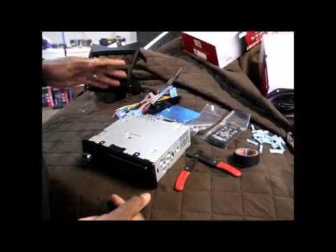 2003-07 Honda Accord Lower Dash Radio Install How-to