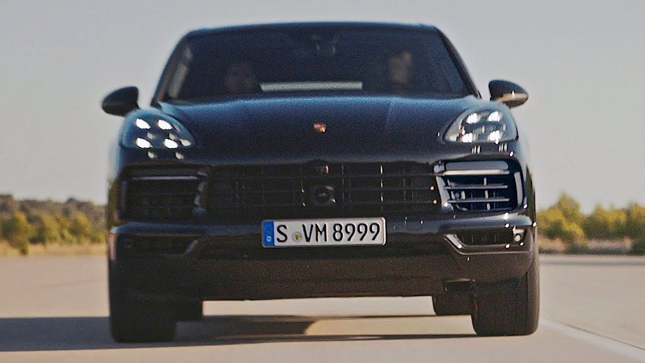 Porsche Cayenne 2018 Ready To Fight Range Rover Sport