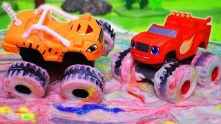 Вспыш и чудо машинки: Мультики с игрушками. День красок! Машинки Вспыш. Мультфильмы для детей