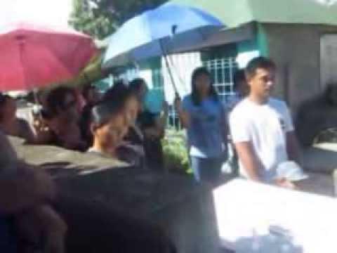 Burial of the late Nomier Legaspi at bulua Cagayan De Oro city