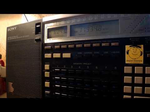 14 10 2016 Radio RB2 relay Radio Aparecida in Portuguese to Brasil 0623 on 11934,7 Curitiba