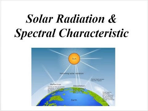 Solar radiation and Solar Spectra with Numerical