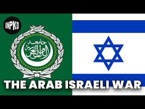 1948 Israeli War of Independence | History of Israel Explained | Unpacked