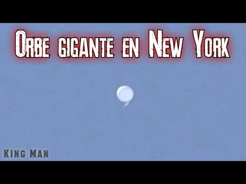 OVNI gigante en los cielos de New York