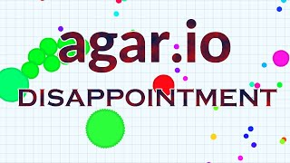 Nytin Gaming | Agar.io Disappointment