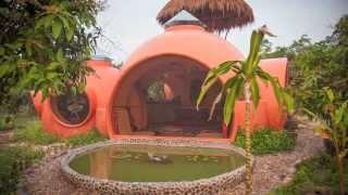 Круглый дом - пространство гармонии(Дом не назовёшь большим, но согласитесь - он роскошен. Отличное место для релакса и медитаций. Увы, выполнен..., 2014-01-04T19:06:08.000Z)
