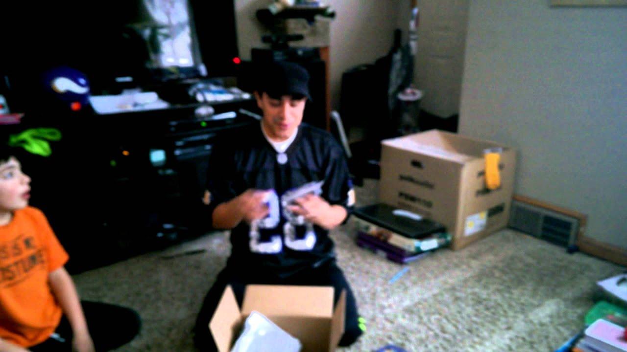 2015 woot nfl mystery box vikings youtube
