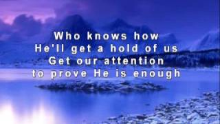 God Speaking - Mandisa - With Background Words