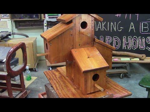 119 Building a Big Fancy Cedar Birdhouse