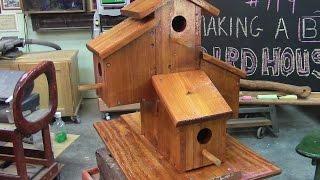 Building A Big Fancy Cedar Birdhouse Mm 119