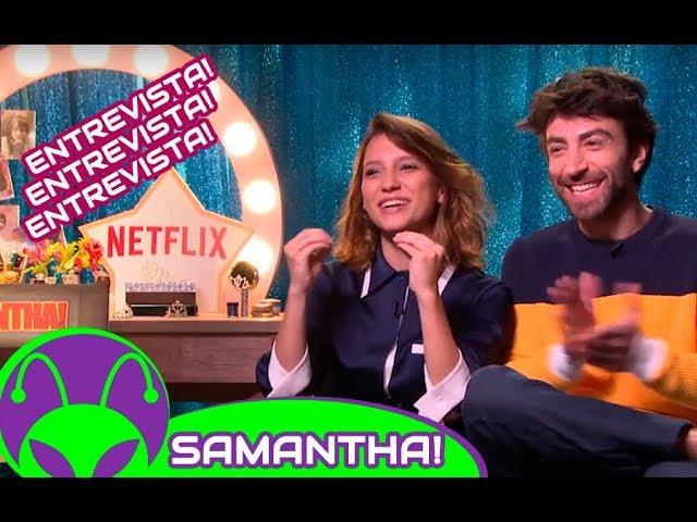 ENTREVISTA | (NETFLIX) Samantha! - Lorena Comparato e Rodrigo Pandolfo