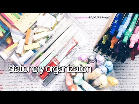 Stationery Organization || revisign