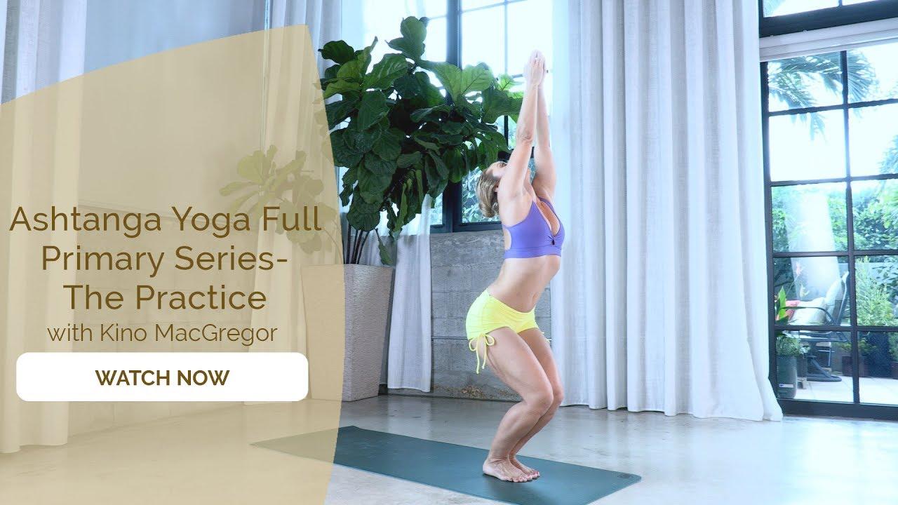 Ashtanga Yoga Primary Series Course - Trailer - YouTube