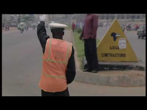 Dancing Traffic Cop - Abuja, Nigeria