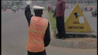Dancing Traffic Cop - Abuja, Nigeria