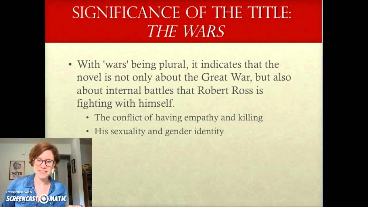the wars timothy findley essay masculinity A literary analysis of the wars by timothy findley pages 3 words 2,151 view full essay sign up to view the rest of the essay read the full essay more essays.