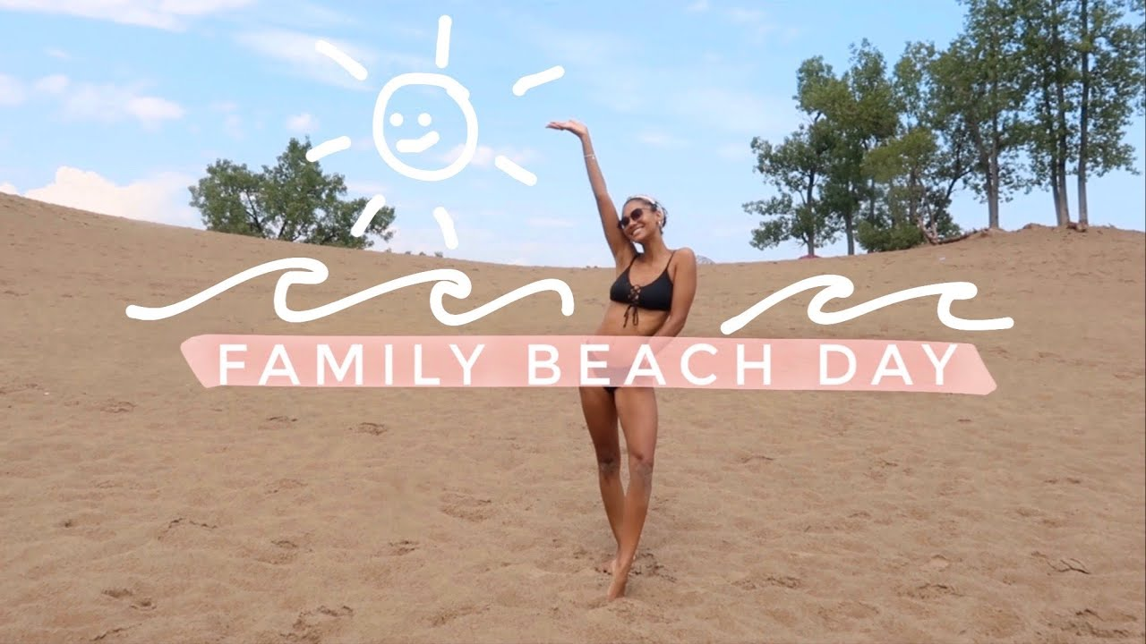 *re-upload* VLOG: BEACH DAY WITH MY FAMILY | Greta Onieogou