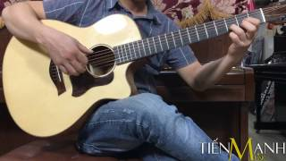 Đàn Acoustic Guitar Việt Nam Martin 350 - Gỗ nguyên tấm - All Solid Series