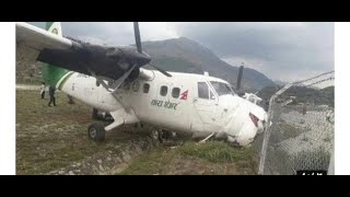 Tara air Plane crashed live video by passenger ..nepalgunj to jumla.