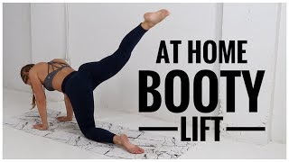 THE BEST At Home BOOTY Workout // No equipment