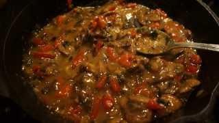 Tonight's White Wine & Mushroom Sauce