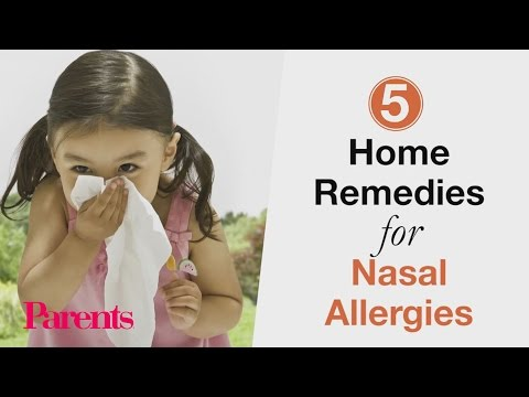 5 Home Remedies for Nasal Allergies | Parents