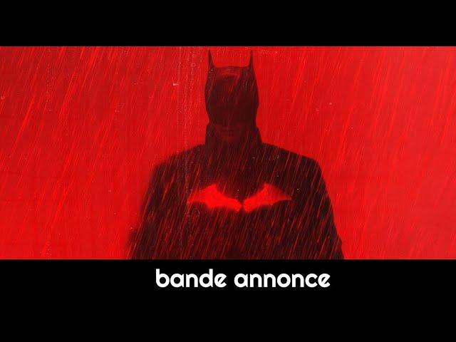 The Batman (Robert Pattinson) : bande-annonce VO