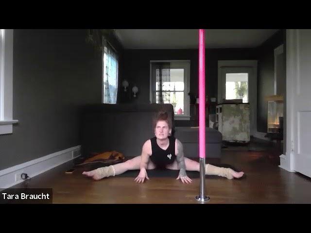 Pole Floor Work With Kyli