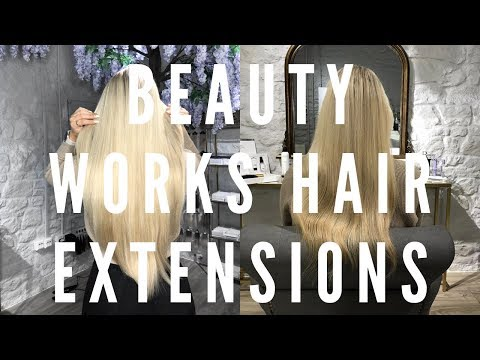 BEAUTY WORKS HAIR EXTENSIONS   FIRST TIME EVER!