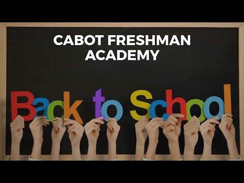 2019-2020 Back to School Video - Cabot Freshman Academy