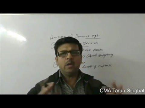 @.4 Learn Financial Management Basic By CMA Tarun Singhal