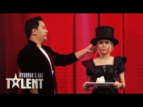 Damien: Final   Myanmar's Got Talent 2019