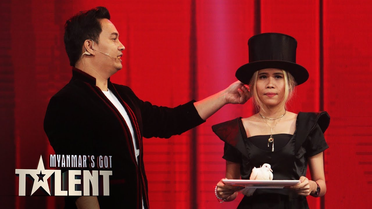 Damien: Final | Myanmar's Got Talent 2019