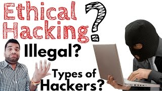 What is Hacking? Ethical Hacking? Illegal? Types of Hackers?