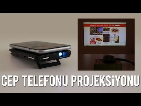 İlginç Ürünler - Cep Telefonu Projeksiyonu: Aiptek A50P